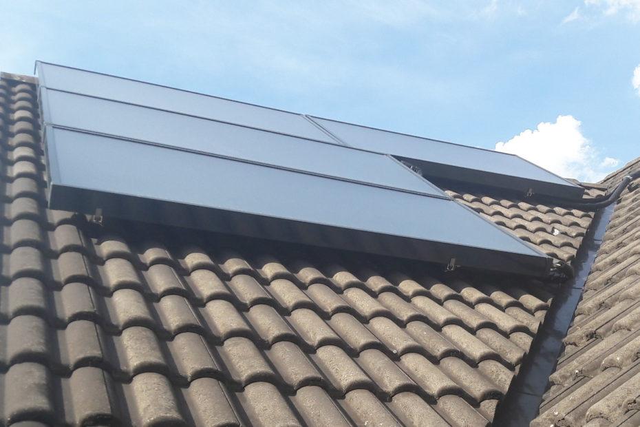 Solarthermie-Anlage bei Andi von Neubiberg for Future