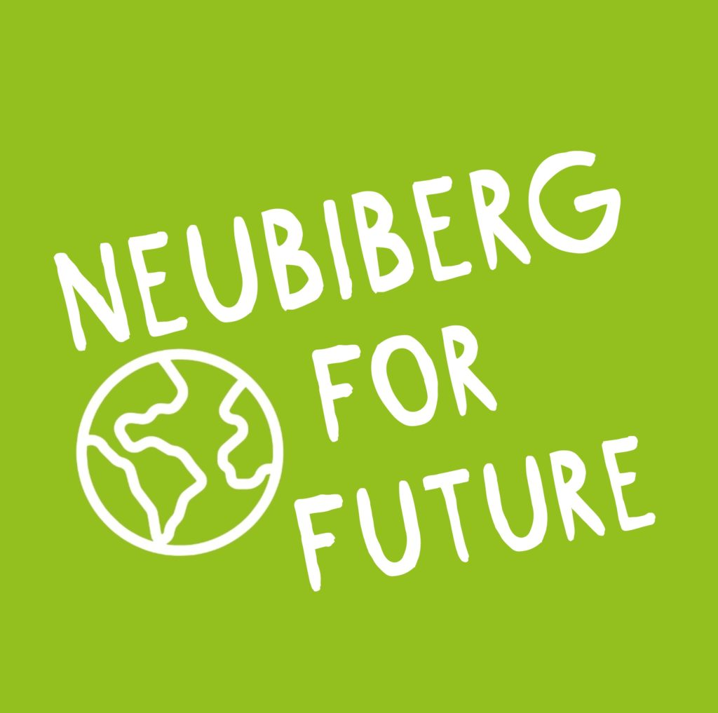 Icon und Favicon von Neubiberg for Future im grünen Quadrat
