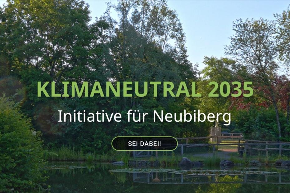Klimaneutral 2035 - Eine Initiative für Neubiberg