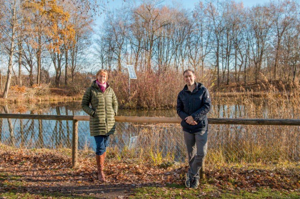 Annika Gehrmann und Christian Ellerhold