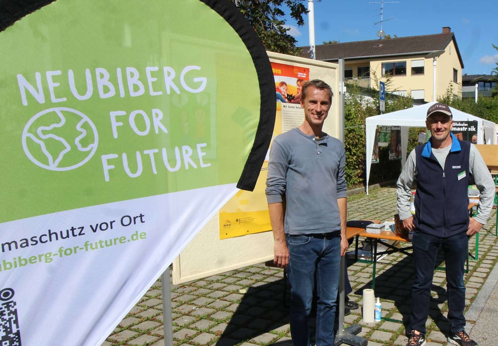 Bürger nutzen 1. Neubiberger Klimatag, um sich über Initiativen zu informieren