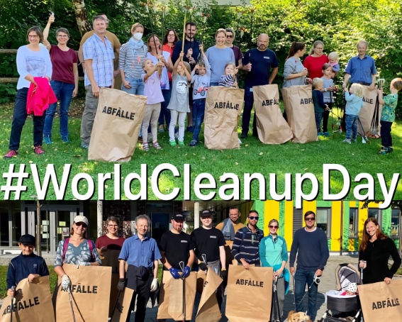 World Cleanup Day – Müllsammeln in Neubiberg und Unterbiberg